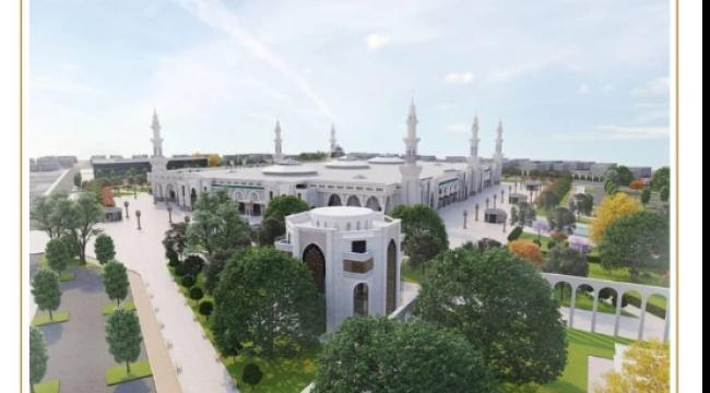 ABUBEKİR KURŞUMOV Avrupa'nın En Büyük Cami'sini İnşa Ediyor.