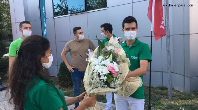 Beylikdüzü Belediyesi Personel Töreni Çav Bella İle Başladı.