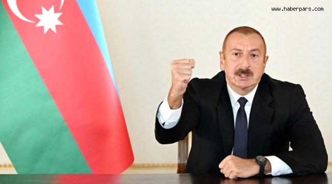 Aliyev Son Sözünü Söyledi. Bakü'ye Müdahale Olursa