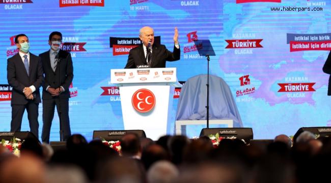 MHP LİDERİ DEVLET BAHÇELİ DEVLET GİBİ DAVRANDI...