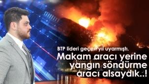 BTP Lideri Hükümeti Eleştirdi.