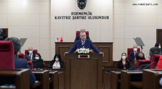 Cumhurbaşkanı Erdoğan Yavru Vatanda.