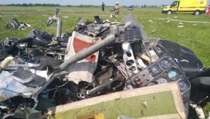 paraşütçüleri taşıyan uçak düştü!..